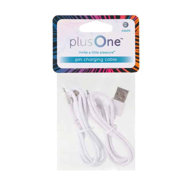 plusOne® magnetic charging cable replacement (2 pack) 6718 in pack front view