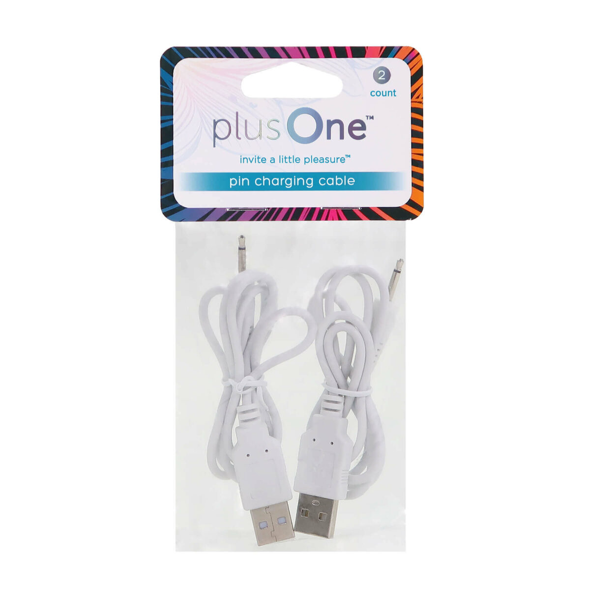 plusOne® magnetic charging cable replacement (2 pack) 6719 in pack front view